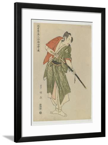 Yamatoya, 1794-Utagawa Toyokuni-Framed Art Print