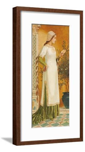 Laura Reading, 1885-Walter Crane-Framed Art Print