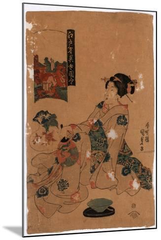 Kameido Tenjin-Utagawa Toyokuni-Mounted Giclee Print