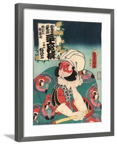Kobayashi No Asahina-Utagawa Toyokuni-Framed Art Print
