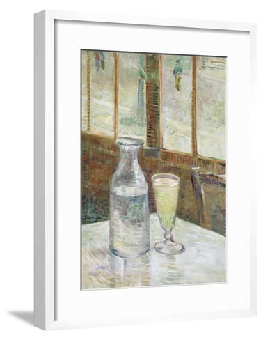 Cafe Table with Absinthe, 1887-Vincent van Gogh-Framed Art Print