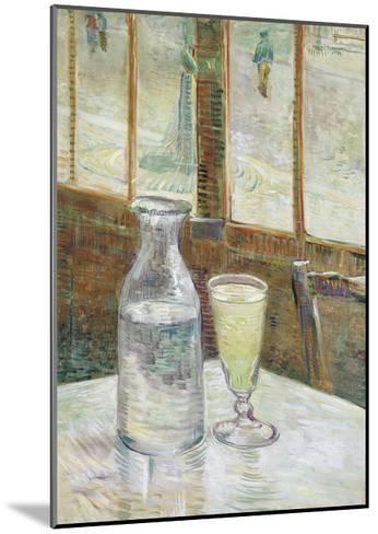 Cafe Table with Absinthe, 1887-Vincent van Gogh-Mounted Giclee Print