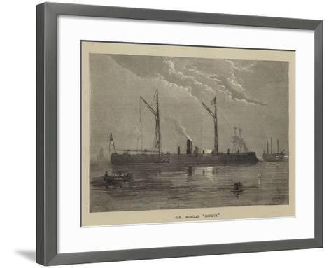 Hm Ironclad Hotspur-Walter William May-Framed Art Print