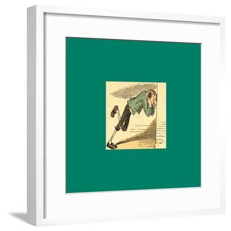 Schnaken and Schnurren-Wilhelm Busch-Framed Art Print
