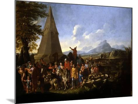 Jacob and His Family Entering Egypt-Willem Reuter-Mounted Giclee Print