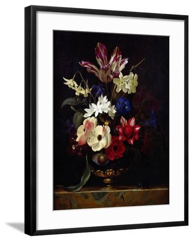 Still Life with Flowers-Willem van Aelst-Framed Art Print