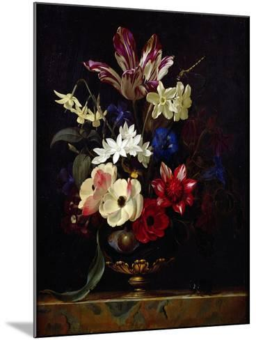 Still Life with Flowers-Willem van Aelst-Mounted Giclee Print