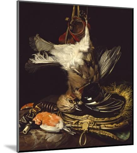 Still Life with a Dead Jay-Willem van Aelst-Mounted Giclee Print