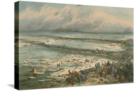The Berezina Passage-V. Adam-Stretched Canvas Print
