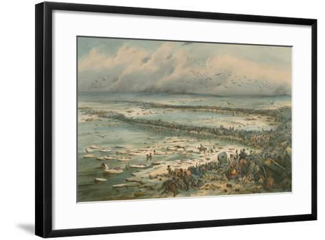 The Berezina Passage-V. Adam-Framed Art Print