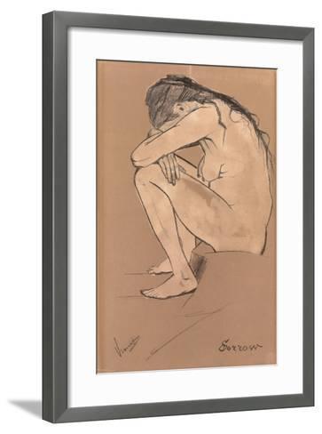 Sorrow, 1882-Vincent van Gogh-Framed Art Print