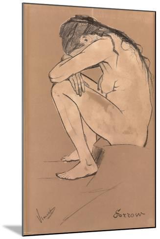 Sorrow, 1882-Vincent van Gogh-Mounted Giclee Print
