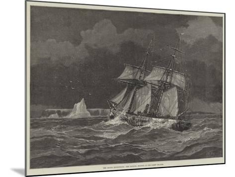 The Arctic Expeditions, the Pandora Beating Up for Carey Islands-Walter William May-Mounted Giclee Print