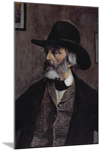 Portrait of Thomas Carlyle (1795-1881) C.1879-Walter Greaves-Mounted Giclee Print
