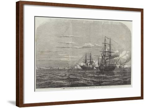 The Bombardment of Odessa-William Adolphus Knell-Framed Art Print