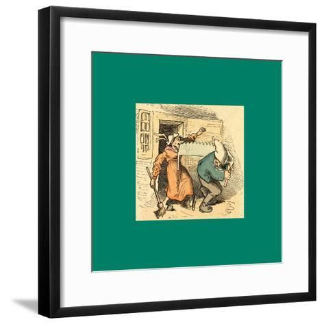 Schnaken and Schnurren-Wilhelm Busch-Framed Art Print