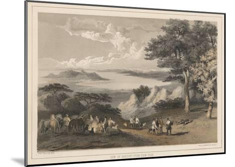 View of Hakodadi from Snow Peak, 1855-Wilhelm Joseph Heine-Mounted Giclee Print