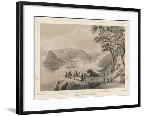 Simoda from Vandalia Bluff, 1855-Wilhelm Joseph Heine-Framed Art Print