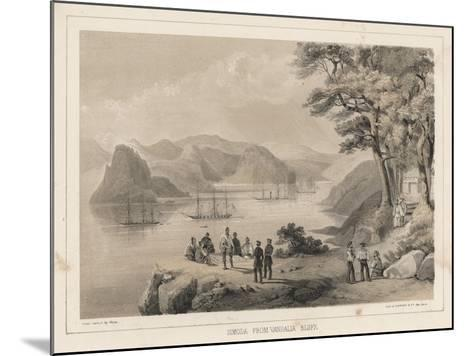 Simoda from Vandalia Bluff, 1855-Wilhelm Joseph Heine-Mounted Giclee Print