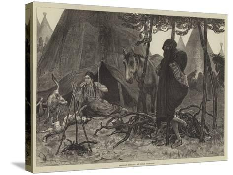 American Sketches, an Indian Courtship-Valentine Walter Lewis Bromley-Stretched Canvas Print