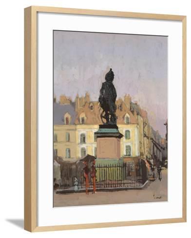 Le Grand Duquesne-Walter Richard Sickert-Framed Art Print