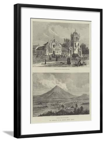 The Earthquake in San Salvador, Central America- Warry-Framed Art Print