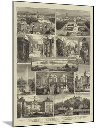 The Royal Wedding at Carlsruhe- Warry-Mounted Giclee Print