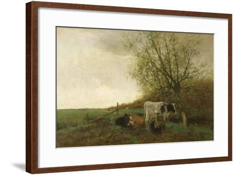 Milking Time-Willem Maris-Framed Art Print