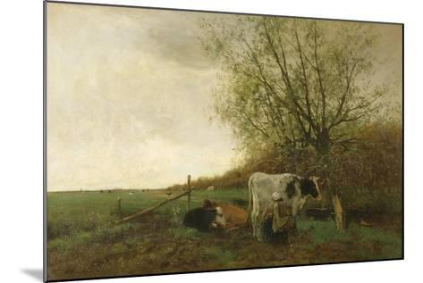 Milking Time-Willem Maris-Mounted Giclee Print