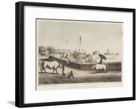 Light House, Point De Galle, Ceylon, 1855-Wilhelm Joseph Heine-Framed Art Print