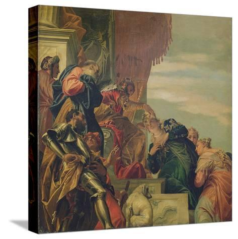 King Ahasuerus Crowns Esther, 1556-Veronese-Stretched Canvas Print