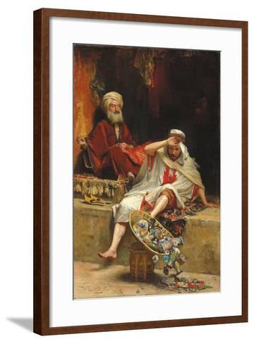 Alnaschar's Fortune, Arabian Nights, 1879-William Ewart Lockhart-Framed Art Print