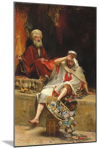 Alnaschar's Fortune, Arabian Nights, 1879-William Ewart Lockhart-Mounted Giclee Print