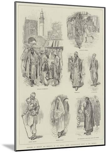 Sketches at Beyrout and Damascus-William Douglas Almond-Mounted Giclee Print