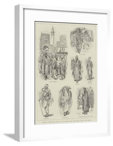 Sketches at Beyrout and Damascus-William Douglas Almond-Framed Art Print