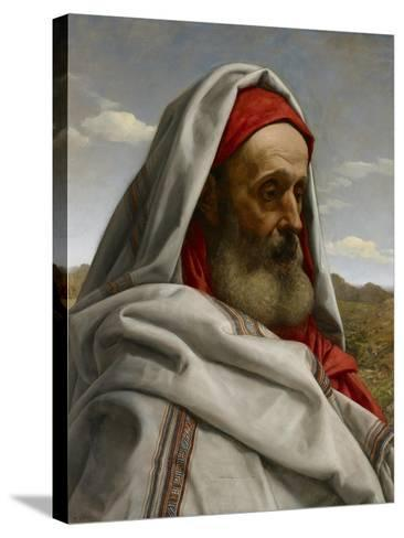 Eliezer of Damascus, 1860-William Dyce-Stretched Canvas Print