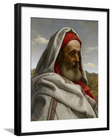 Eliezer of Damascus, 1860-William Dyce-Framed Art Print
