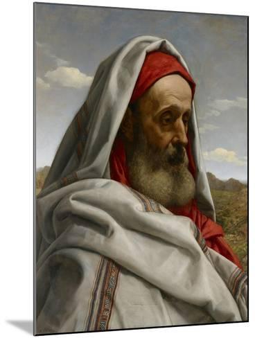 Eliezer of Damascus, 1860-William Dyce-Mounted Giclee Print