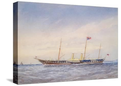 The Royal Yacht Osbourne, 1876-William Frederick Mitchell-Stretched Canvas Print