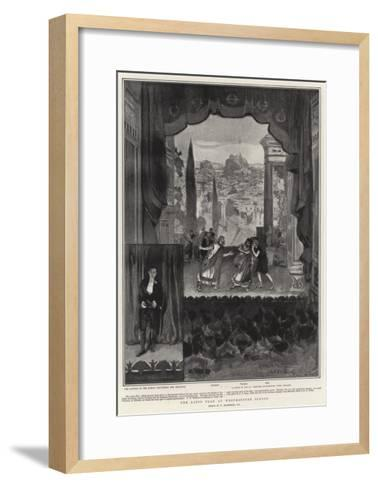 The Latin Play at Westminster School-William Hatherell-Framed Art Print