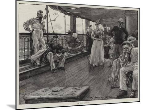 Life at Sea on an Australian Liner-William Hatherell-Mounted Giclee Print