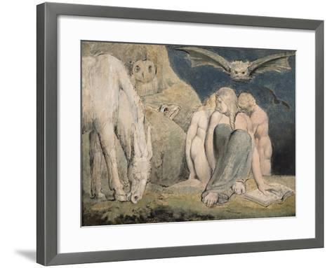 The Night of Enitharmon's Joy, C.1795-William Blake-Framed Art Print
