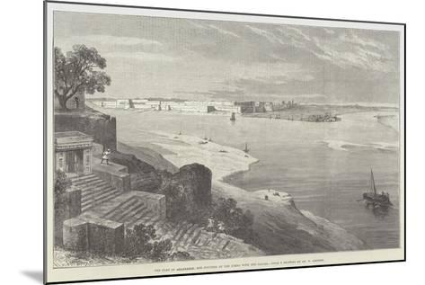 The Fort of Allahabad, and Junction of the Jumna with the Ganges-William 'Crimea' Simpson-Mounted Giclee Print