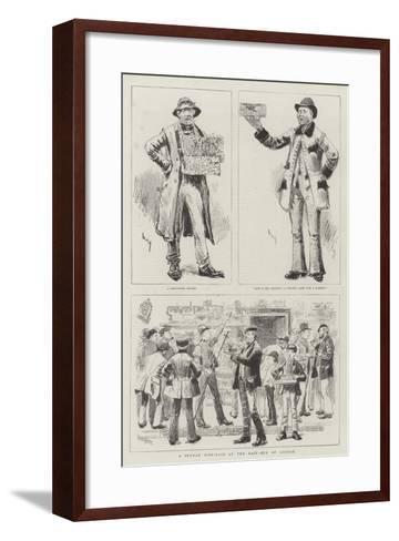 A Sunday Bird-Fair at the East-End of London-William Douglas Almond-Framed Art Print