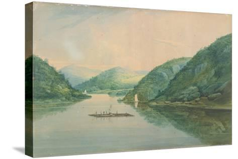 View Near Fort Montgomery, New York, 1820-William Guy Wall-Stretched Canvas Print