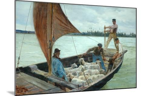 A Breezy Crossing, 1893-William H. Bartlett-Mounted Giclee Print