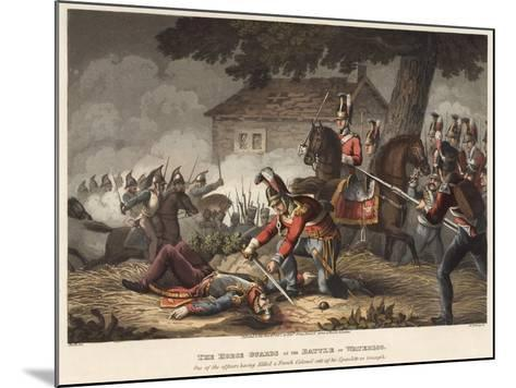 The Horse (Life) Guards at the Battle of Waterloo-William Heath-Mounted Giclee Print