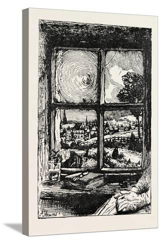 A Window in Thrums, 1893-William Brassey Hole-Stretched Canvas Print