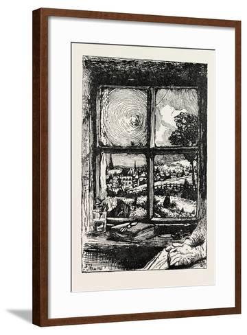 A Window in Thrums, 1893-William Brassey Hole-Framed Art Print