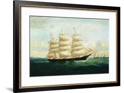 Huegenot of Boston-William H. Yorke-Framed Art Print